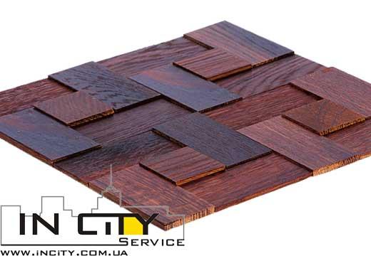 Enfasi Дуб Thermo Wood 445,00 грн/упаковка  1 упаковка = 0,51м2  (7 панелей)