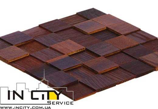 Tessera Дуб Thermo Wood mix 445,00 грн/упаковка   1 упаковка = 0,51 м2   (7 панелей)